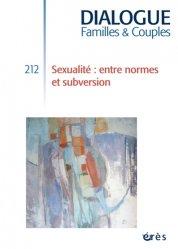 Dernières parutions dans Dialogue, Sexualité : entre normes et subversion majbook ème édition, majbook 1ère édition, livre ecn major, livre ecn, fiche ecn