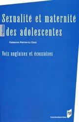 Dernières parutions dans Des Sociétés, Sexualité et maternité des adolescents