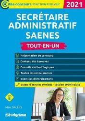 Dernières parutions dans Concours fonction publique, Secrétaire administratif SAENES