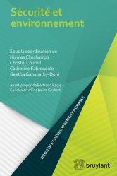 Dernières parutions dans Droit(s) et développement durable, Sécurité et environnement