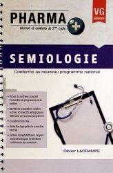 Souvent acheté avec Droit pharmaceutique, le Sémiologie