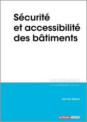 Dernières parutions sur Sécurité - Certifications - Accessibilité, Sécurité et accessibilité des bâtiments
