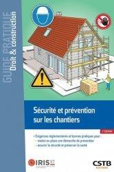 Dernières parutions sur Hygiène et sécurité, Sécurité et prévention sur les chantiers
