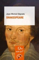 Dernières parutions dans Que sais-je ?, Shakespeare