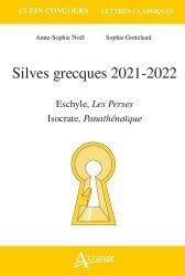 Dernières parutions sur Grec ancien, Silves grecques 2021-2022