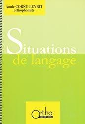 Souvent acheté avec Evalad - Pack avec un manuel, un livret de passation et cotation, 10 livrets d'enregistrement et 10 planches, le Situations de langage