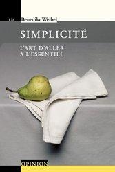 Dernières parutions dans Le savoir suisse , Simplicité