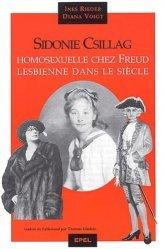 Dernières parutions dans Essais, Sidonie Csillag. Homosexuelle chez Freud, lesbienne dans le siècle