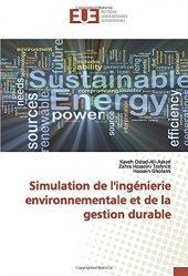 Dernières parutions sur Développement durable, Simulation de l'ingénierie environnementale et de la gestion durable