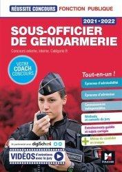 Dernières parutions dans Réussite concours, Sous-officier de gendarmerie
