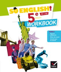 Dernières parutions dans So English!, So English! 5e (2017) : Workbook