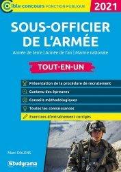 Dernières parutions sur Concours administratifs, Sous-officier de l'armée