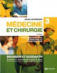 Dernières parutions sur IBODE, Soins infirmiers en médecine et en chirurgie Vol 3