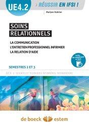 Dernières parutions sur UE 4.2 Soins relationnels, Soins relationnels