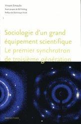 Dernières parutions dans Société, espaces, temps, Sociologie d'un grand équipement scientifique