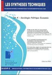 Dernières parutions dans Les Synthèses techniques de l'office international de l'eau, Sociologie - Politique - Economie