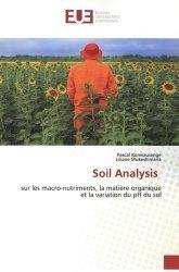 Dernières parutions sur Sciences de la Vie, Soil analysis