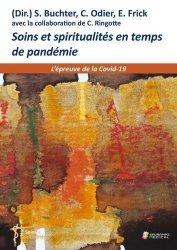 Dernières parutions sur Paramédical, Soins et spiritualités en temps de pandémie