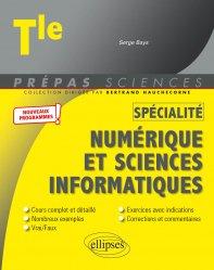 Dernières parutions dans Prépas sciences, Spécialité numérique et sciences informatiques Tle