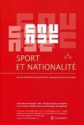 Dernières parutions sur Droit de la nationalité, Sport et nationalité