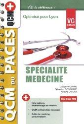 Souvent acheté avec Anatomie UE5 ( Lyon EST), le Spécialité médecine ( Lyon)