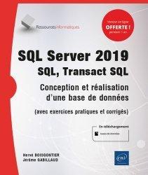 Dernières parutions dans Ressources informatiques, SQL Server 2019 - SQL, Transact SQL