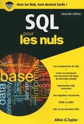 Dernières parutions sur SQL, SQL pour les nuls