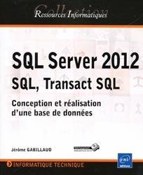 Dernières parutions sur SQL, SQL Server 2012 SQL, Transact SQL