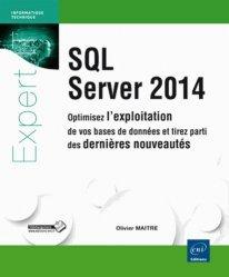 Dernières parutions sur SQL, SQL server 2014