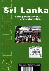 Nouvelle édition Sri Lanka Entre particularismes et mondialisation