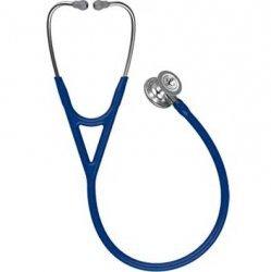 Dernières parutions sur , Stéthoscope Littmann Cardiologie IV - Tubulure à double conduit bleu marine
