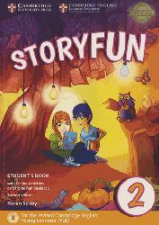 Dernières parutions sur Fun and Storyfun for Starters, Movers and Flyers, Storyfun for Starters Level 2 - Student's Book with Online Activities and Home Fun Booklet 2