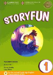 Dernières parutions sur Fun and Storyfun for Starters, Movers and Flyers, Storyfun for Starters Level 1 - Teacher's Book with Audio