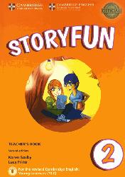 Dernières parutions sur Fun and Storyfun for Starters, Movers and Flyers, Storyfun for Starters Level 2 - Teacher's Book with Audio