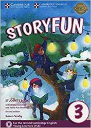 Dernières parutions dans Storyfun for Starters, Movers and Flyers, Storyfun for Movers Level 3 - Student's Book with Online Activities and Home Fun Booklet 3