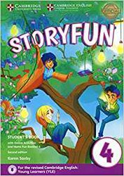 Dernières parutions sur Fun and Storyfun for Starters, Movers and Flyers, Storyfun for Movers Level 4 - Student's Book with Online Activities and Home Fun Booklet 4