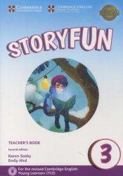 Dernières parutions sur Fun and Storyfun for Starters, Movers and Flyers, Storyfun 3 Teacher's - Book with Audio