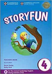 Dernières parutions sur Fun and Storyfun for Starters, Movers and Flyers, Storyfun 4 - Teacher's Book with Audio