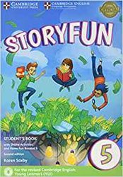 Dernières parutions sur Fun and Storyfun for Starters, Movers and Flyers, Storyfun 5 - Student's Book with Online Activities and Home Fun Booklet 5