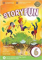 Dernières parutions dans Storyfun for Starters, Movers and Flyers, Storyfun 6 - Student's Book with Online Activities and Home Fun Booklet 6