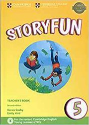Dernières parutions sur Fun and Storyfun for Starters, Movers and Flyers, Storyfun 5 - Teacher's Book with Audio