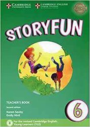 Dernières parutions sur Fun and Storyfun for Starters, Movers and Flyers, Storyfun 6 - Teacher's Book with Audio