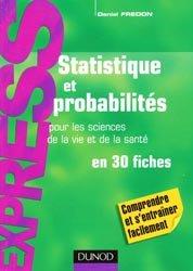 Souvent acheté avec Santé Société Humanité  UE7, le Statistiques et probabilités pour les sciences de la vie et de la santé en 30 fiches