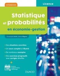 Dernières parutions sur Maths pour l'économie, la gestion et la finance, Statistique et probabilités en économie-gestion