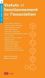 Dernières parutions dans Le Juri'Guide, Statuts et fonctionnement de l'association. 4e édition