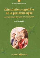 Souvent acheté avec 100 idées pour accompagner un malade d'Alzheimer, le Stimulation cognitive de la personne agée