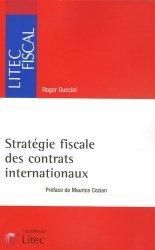 Dernières parutions dans Litec fiscal, Stratégie fiscale des contrats internationaux