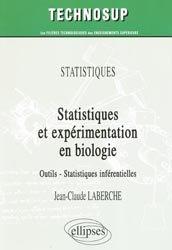 Dernières parutions sur Maths pour les SVT, Statistiques et expérimentation en biologie