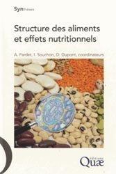 Souvent acheté avec Lécithine, métabolisme et nutrition, le Structure des aliments et effets nutritionnels