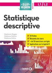 Dernières parutions dans Sup en poche, Statistique descriptive